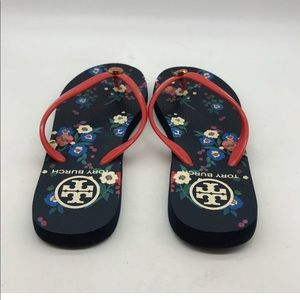 Tory Burch Shoes - Tory Burch flip flop sandal red blue